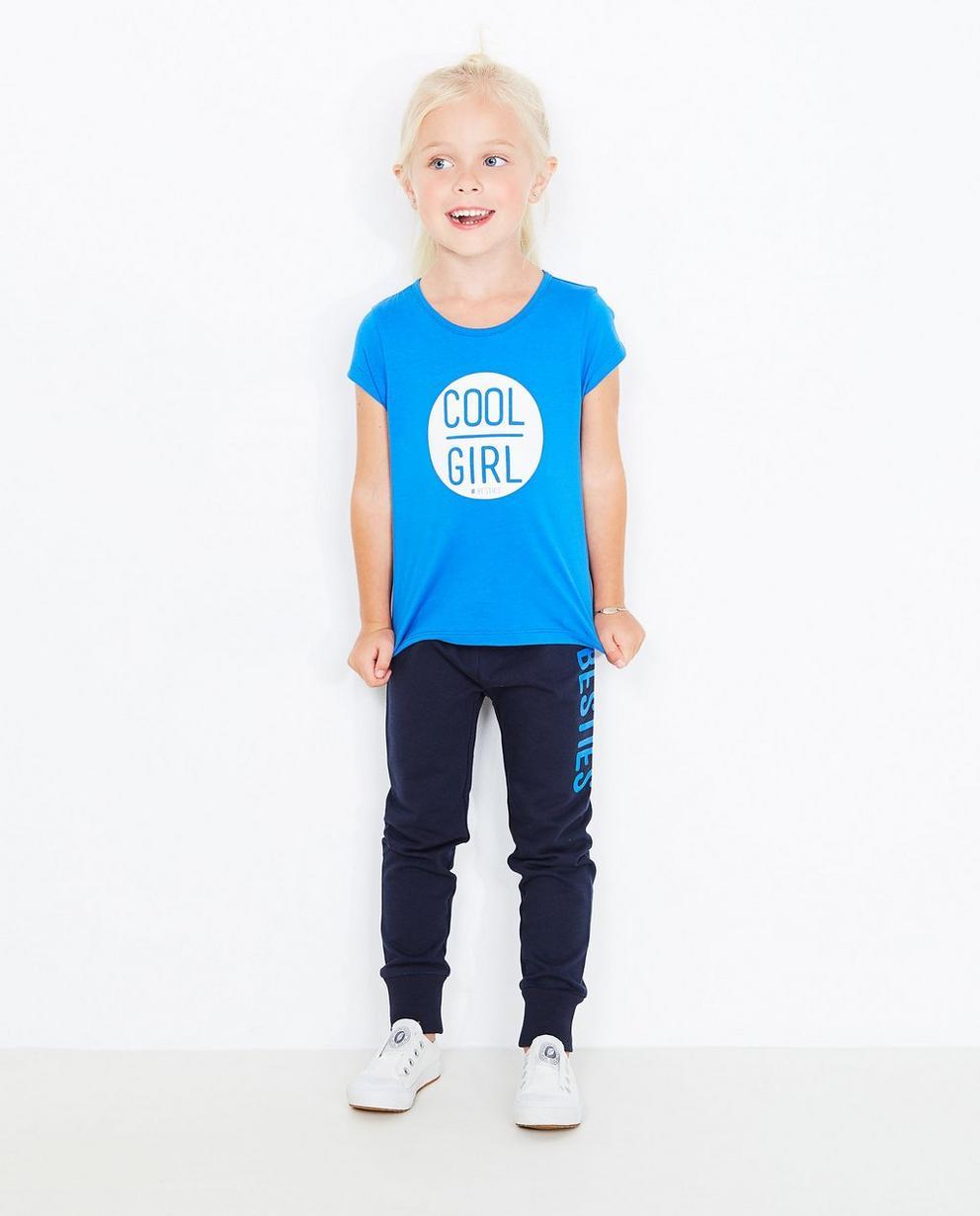 T-Shirt mit Print - in Blau - Best price